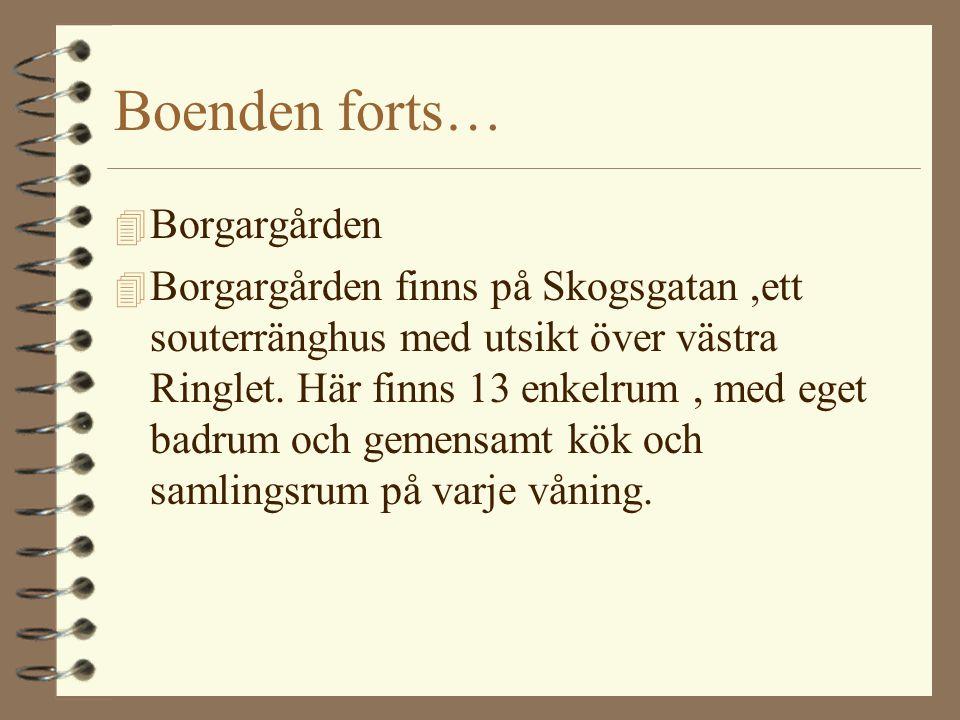 Boenden forts… Borgargården