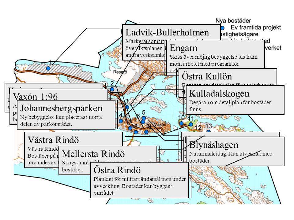 Ladvik-Bullerholmen Engarn Östra Kullön Knipan 1 m m Kulladalskogen