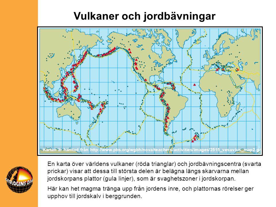 Vulkaner och jordbävningar