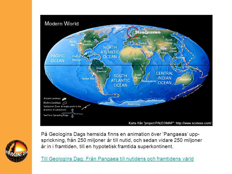 Till Geologins Dag: Från Pangaea till nutidens och framtidens värld