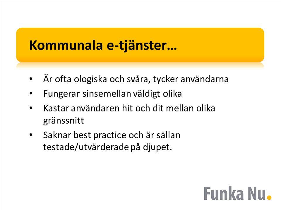 Kommunala e-tjänster…