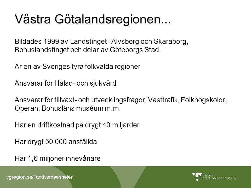 Västra Götalandsregionen...