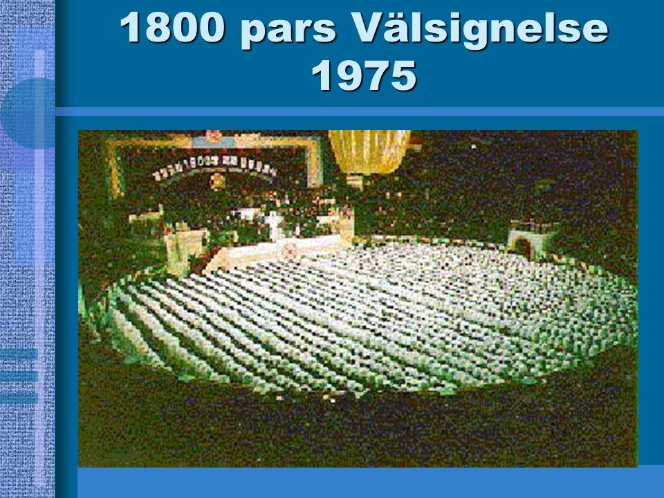 1800 pars Välsignelse 1975