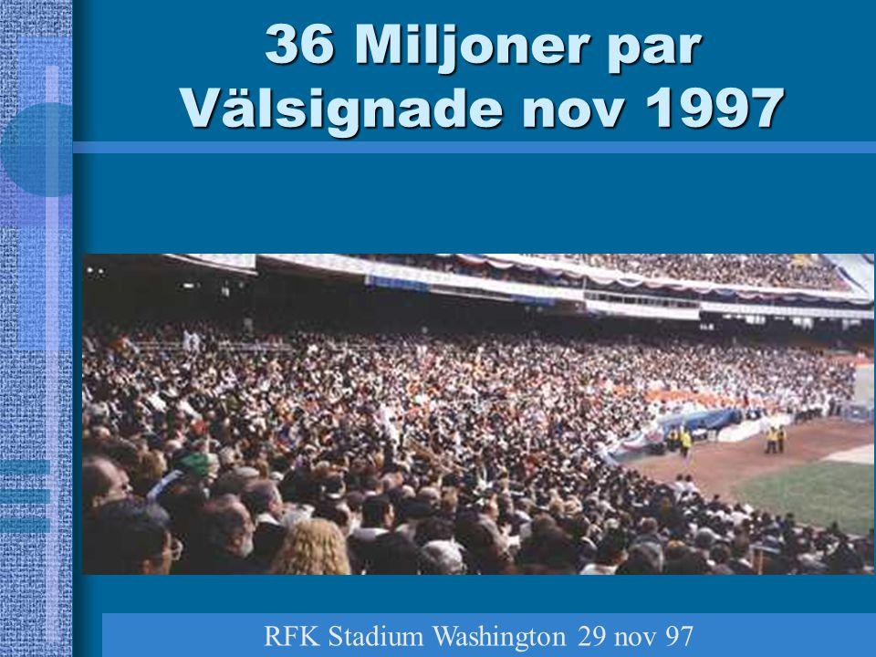 36 Miljoner par Välsignade nov 1997