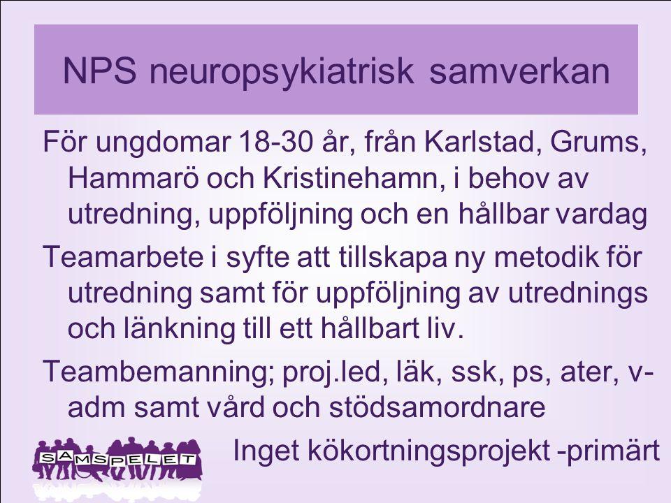 NPS neuropsykiatrisk samverkan