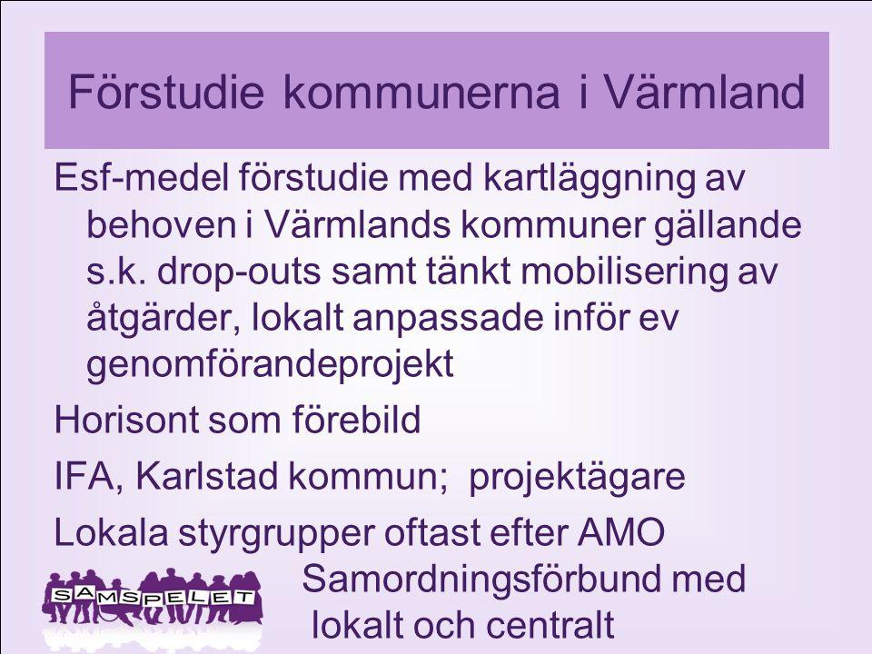 Förstudie kommunerna i Värmland