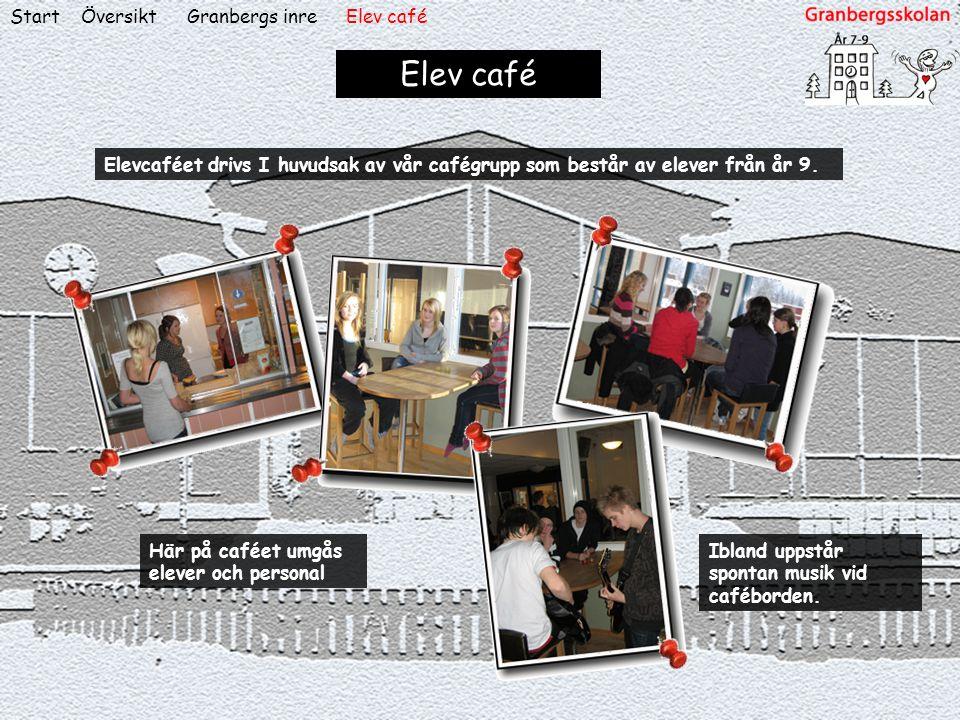 Elev café Start Översikt Granbergs inre Elev café