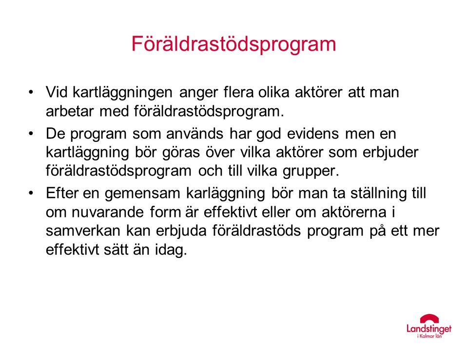 Föräldrastödsprogram