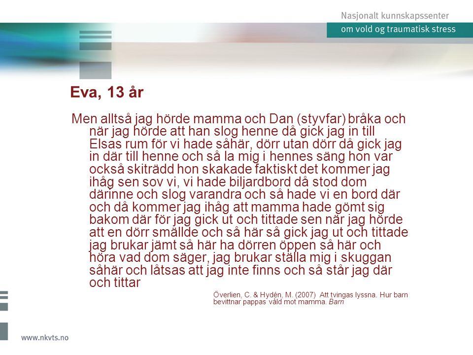 Eva, 13 år
