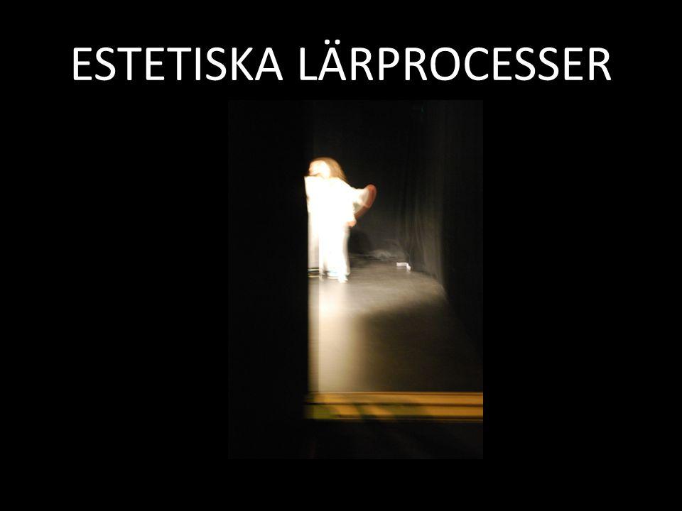 ESTETISKA LÄRPROCESSER