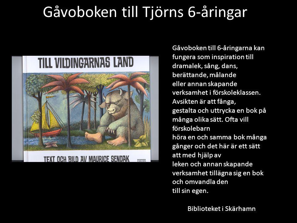 Gåvoboken till Tjörns 6-åringar