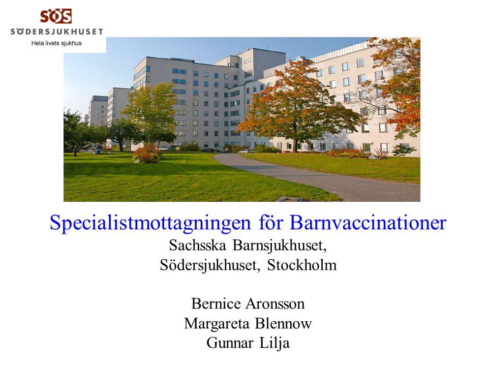 Specialistmottagningen för Barnvaccinationer