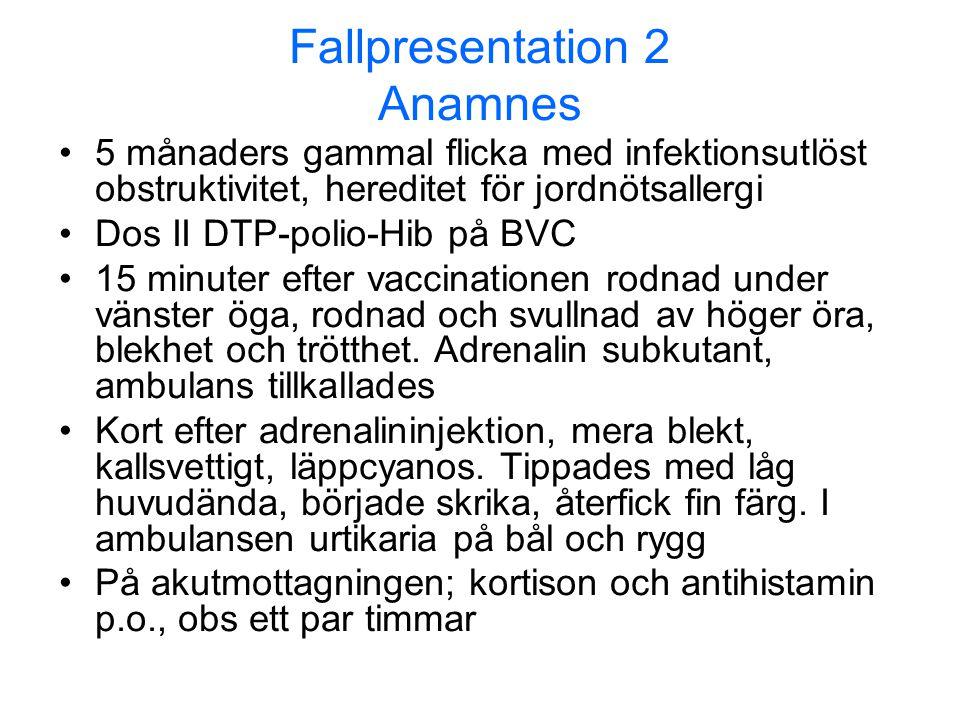 Fallpresentation 2 Anamnes