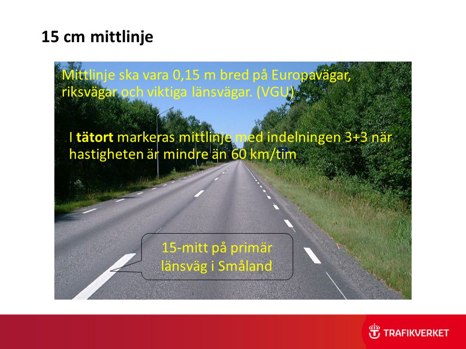 15-mitt på primär länsväg i Småland
