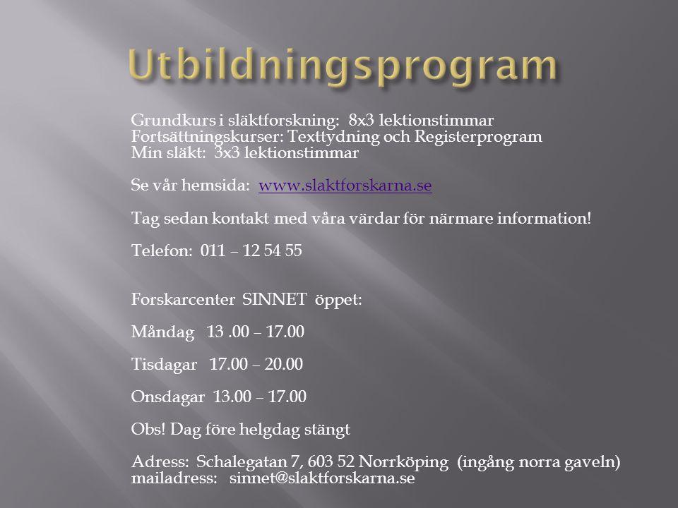 Utbildningsprogram
