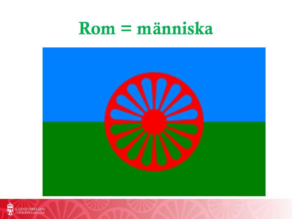 Rom = människa