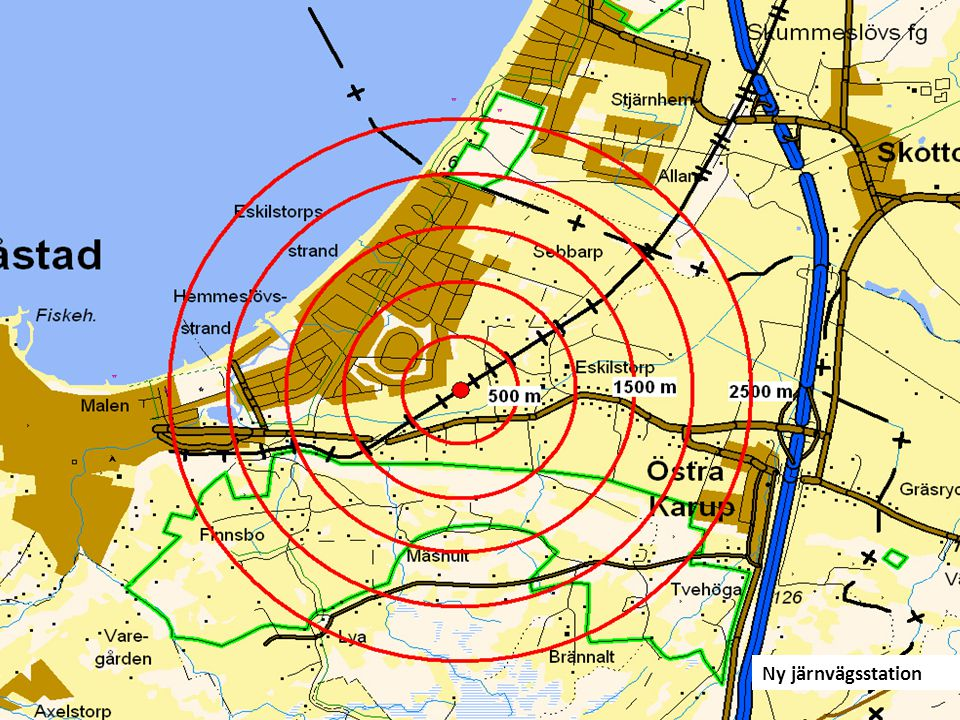 Företagsområden i båda kommunerna