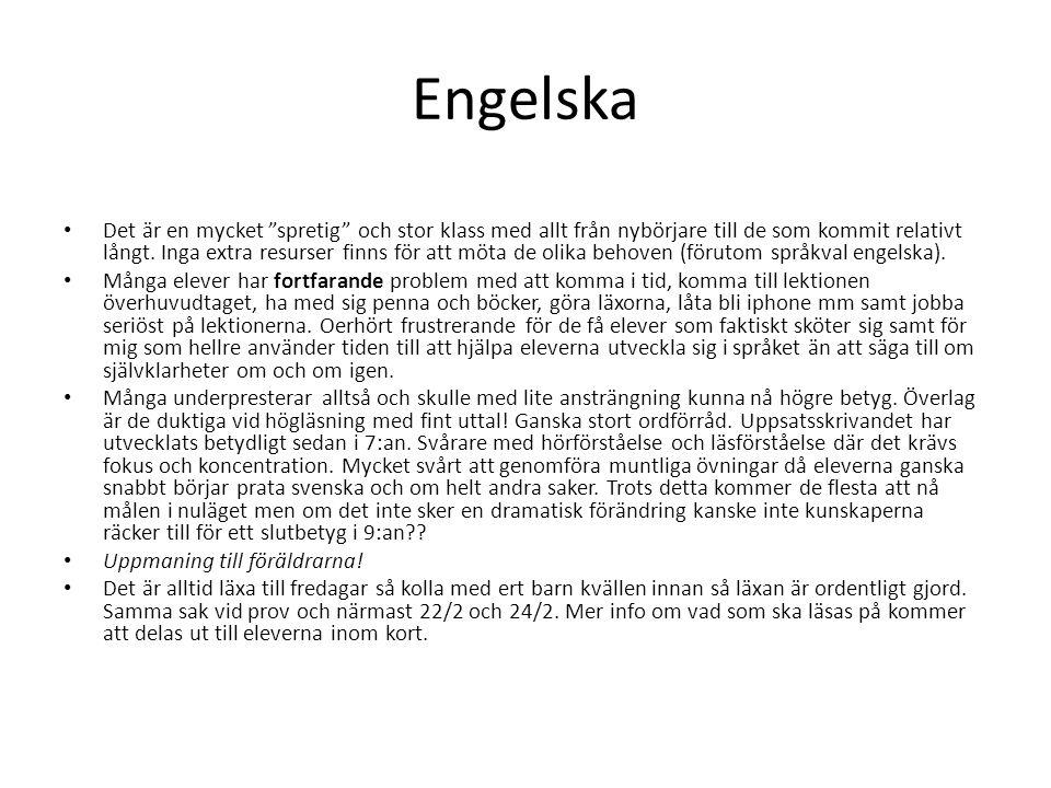 Engelska