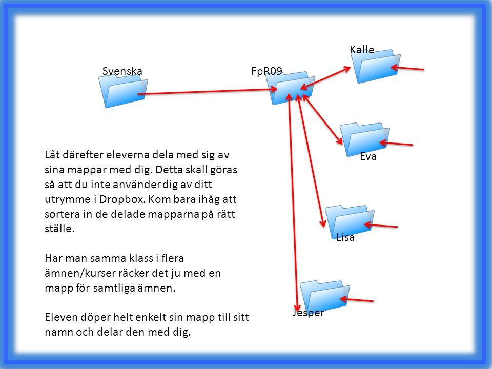Kalle Svenska. FpR09.