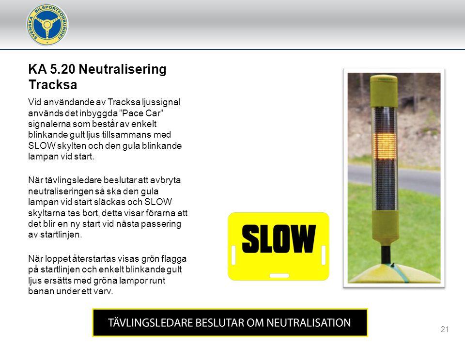 KA 5.20 Neutralisering Tracksa