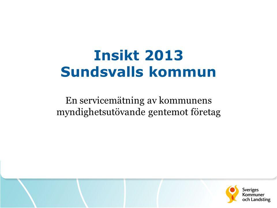 Insikt 2013 Sundsvalls kommun