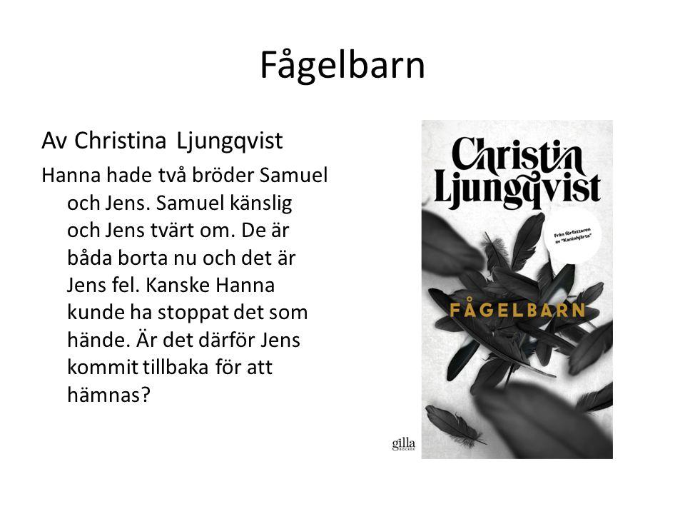 Fågelbarn Av Christina Ljungqvist