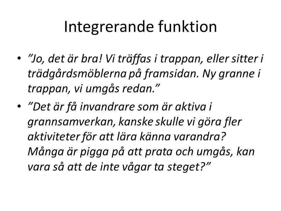 Integrerande funktion