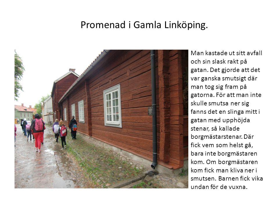 Promenad i Gamla Linköping.