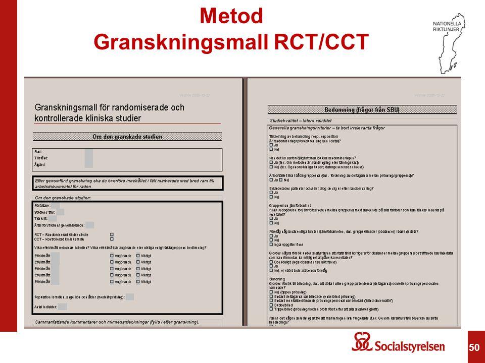 Granskningsmall RCT/CCT