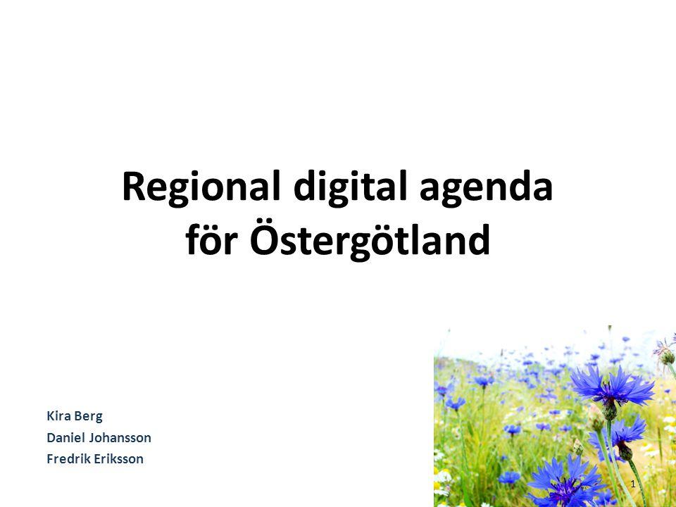 Regional digital agenda för Östergötland