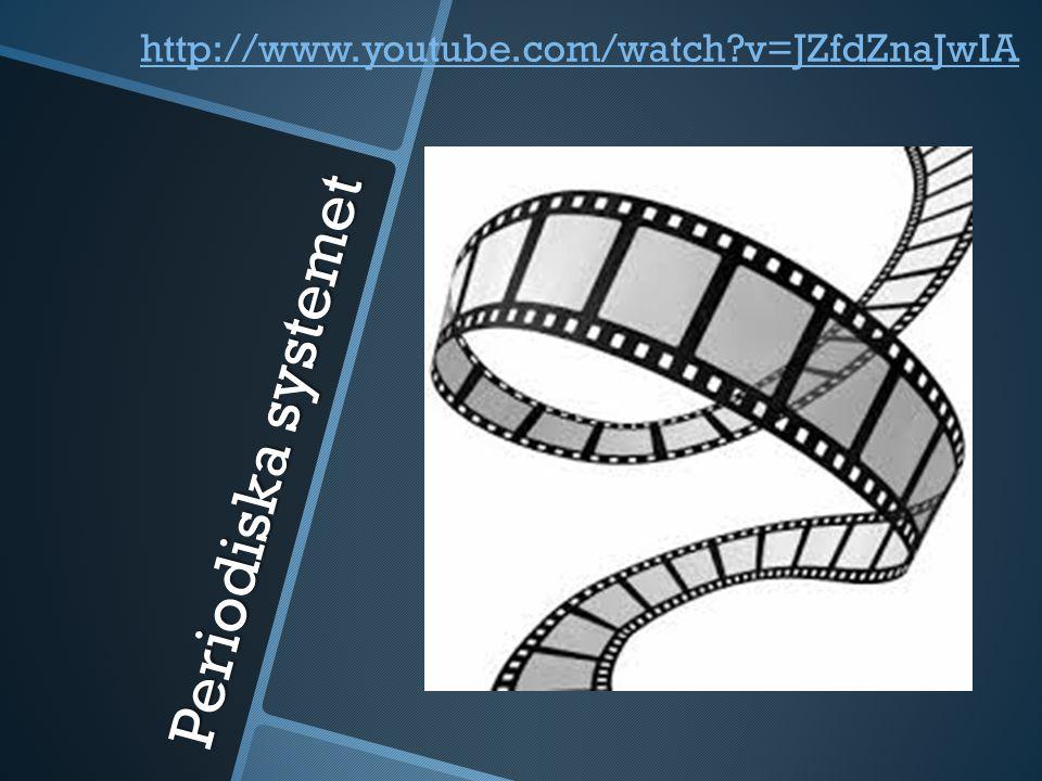 http://www.youtube.com/watch v=JZfdZnaJwIA Periodiska systemet