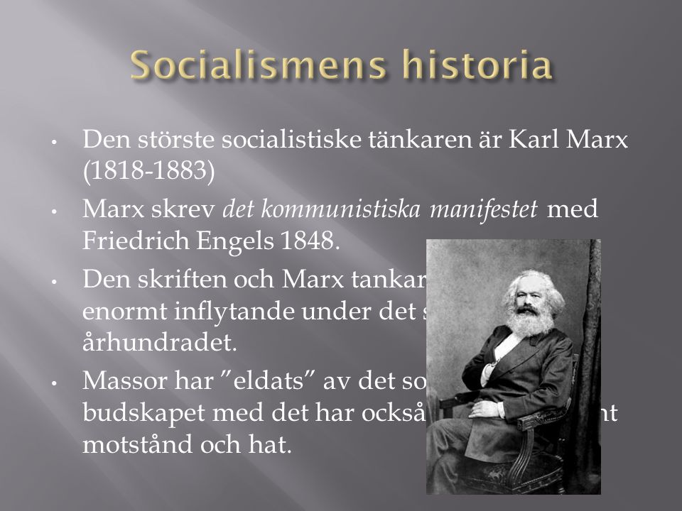 Socialismens historia