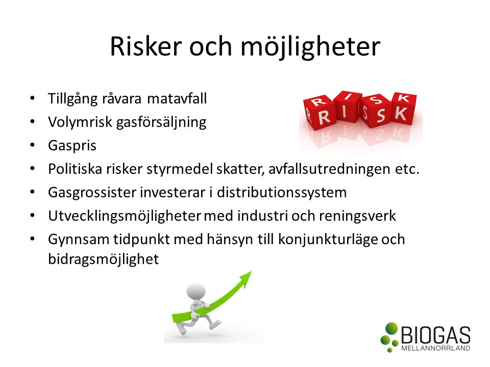 Risker och möjligheter