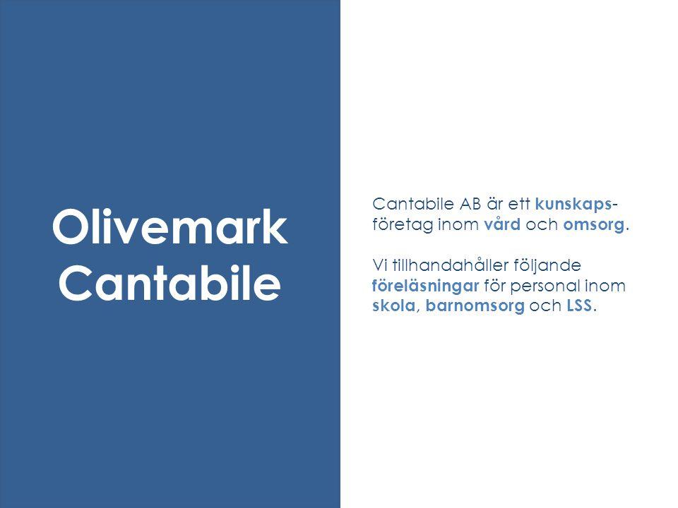 Cantabile AB är ett kunskaps-företag inom vård och omsorg