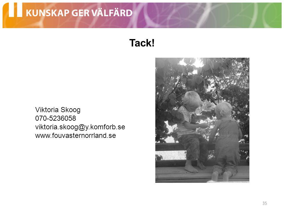 Tack! Viktoria Skoog 070-5236058 viktoria.skoog@y.komforb.se