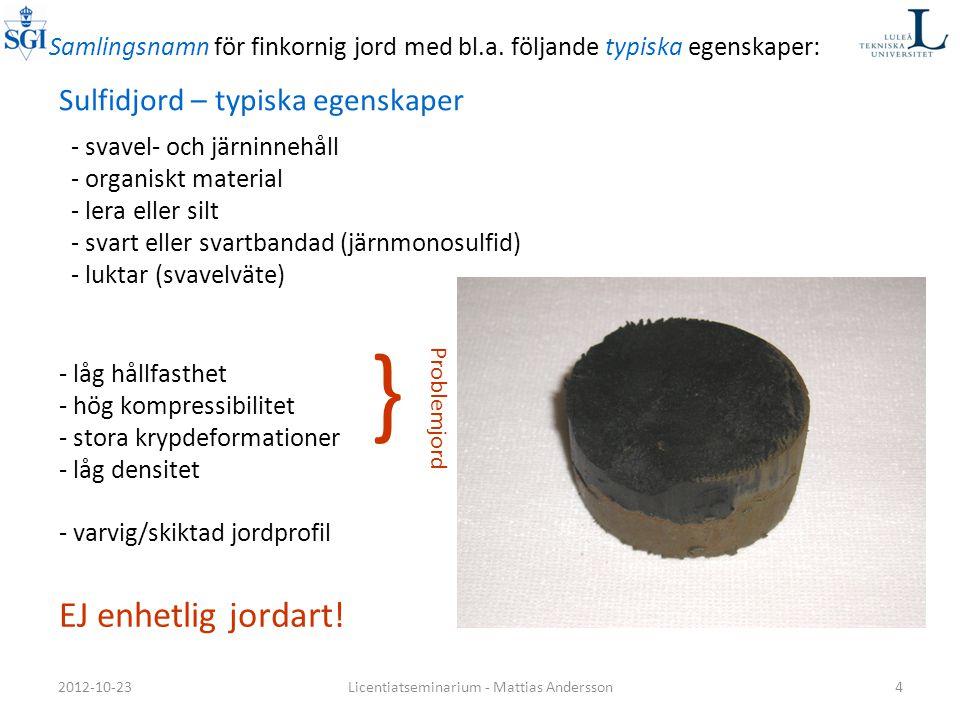 Licentiatseminarium - Mattias Andersson