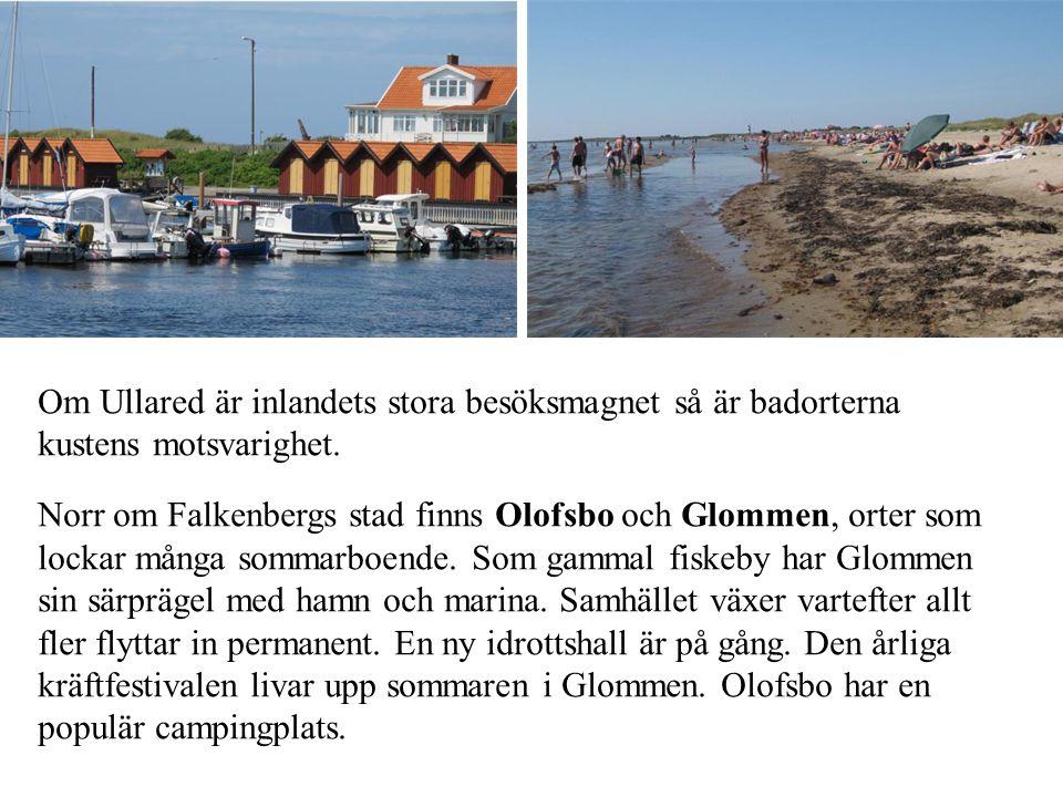 Om Ullared är inlandets stora besöksmagnet så är badorterna kustens motsvarighet.