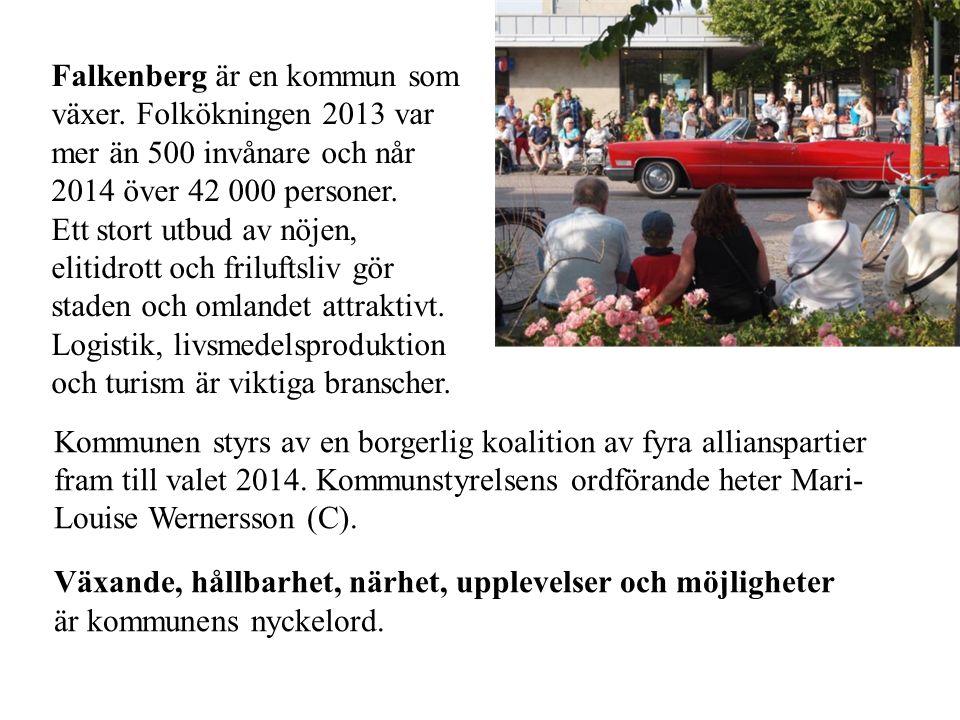 Falkenberg är en kommun som växer