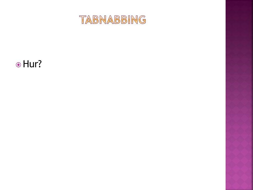 Tabnabbing Hur