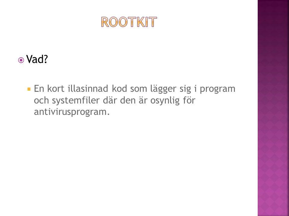 Rootkit Vad.