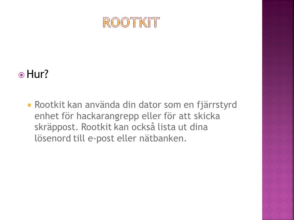 Rootkit Hur