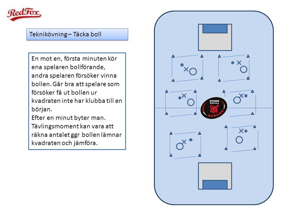 Teknikövning – Täcka boll