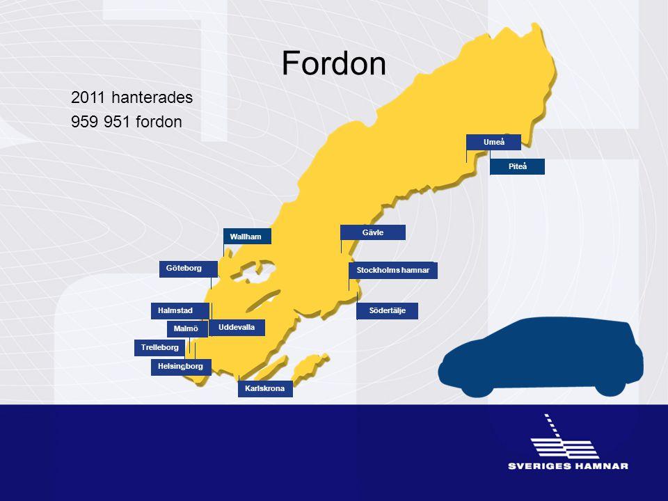Fordon 2011 hanterades 959 951 fordon