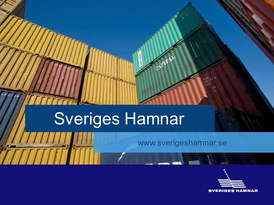 16 16 Sveriges Hamnar www.sverigeshamnar.se