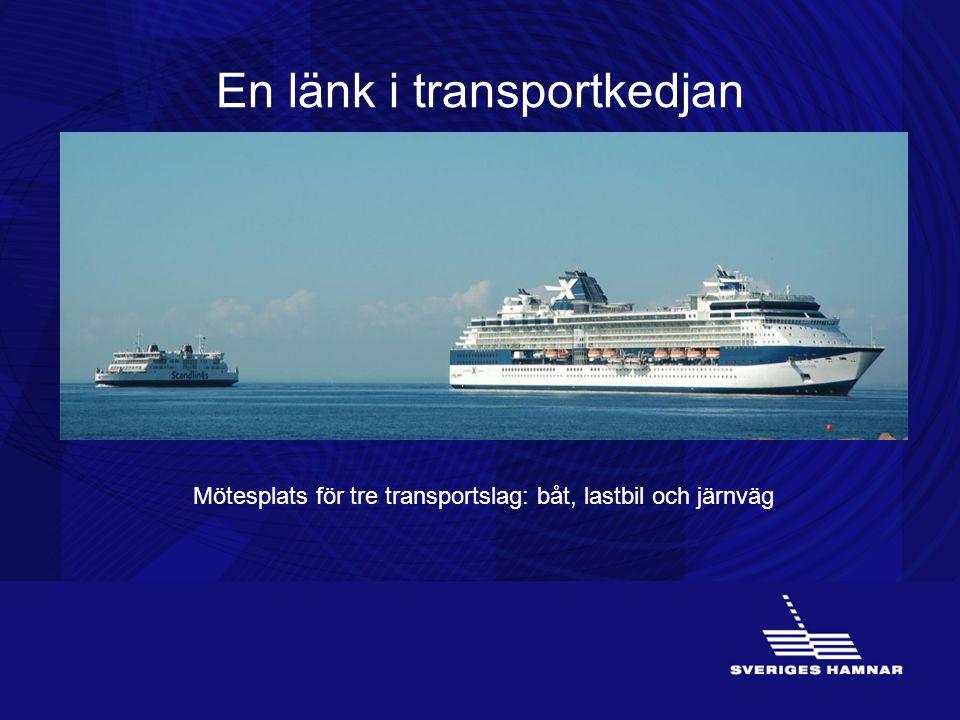En länk i transportkedjan