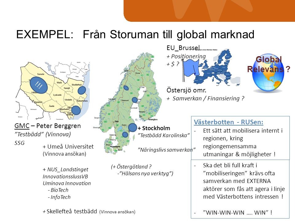 EXEMPEL: Från Storuman till global marknad