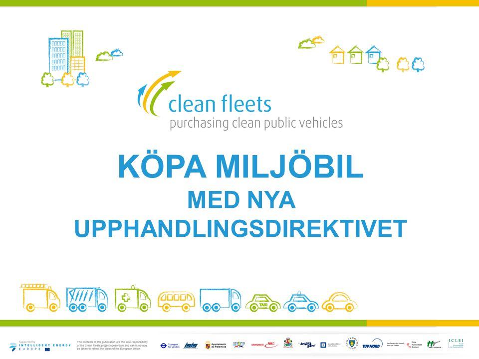 Köpa miljöbil med nya upphandlingsdirektivet