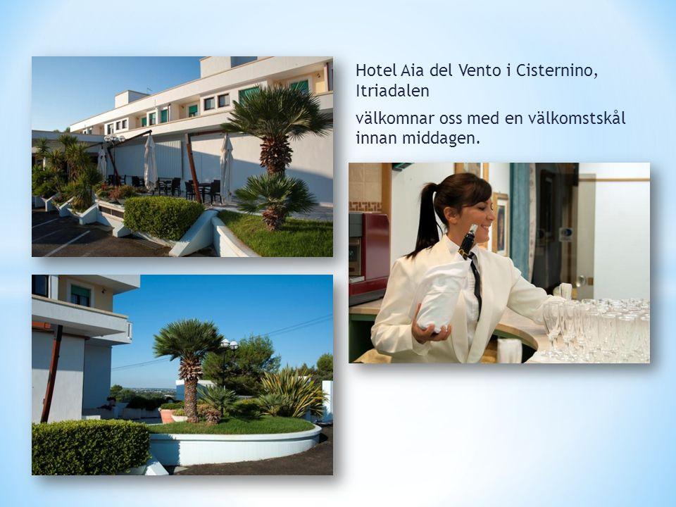 Hotel Aia del Vento i Cisternino, Itriadalen