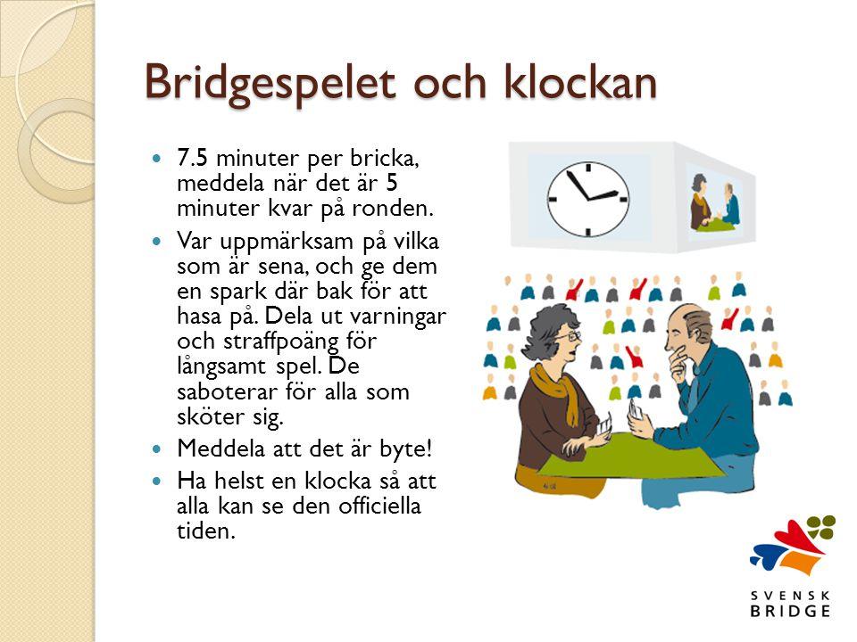 Bridgespelet och klockan