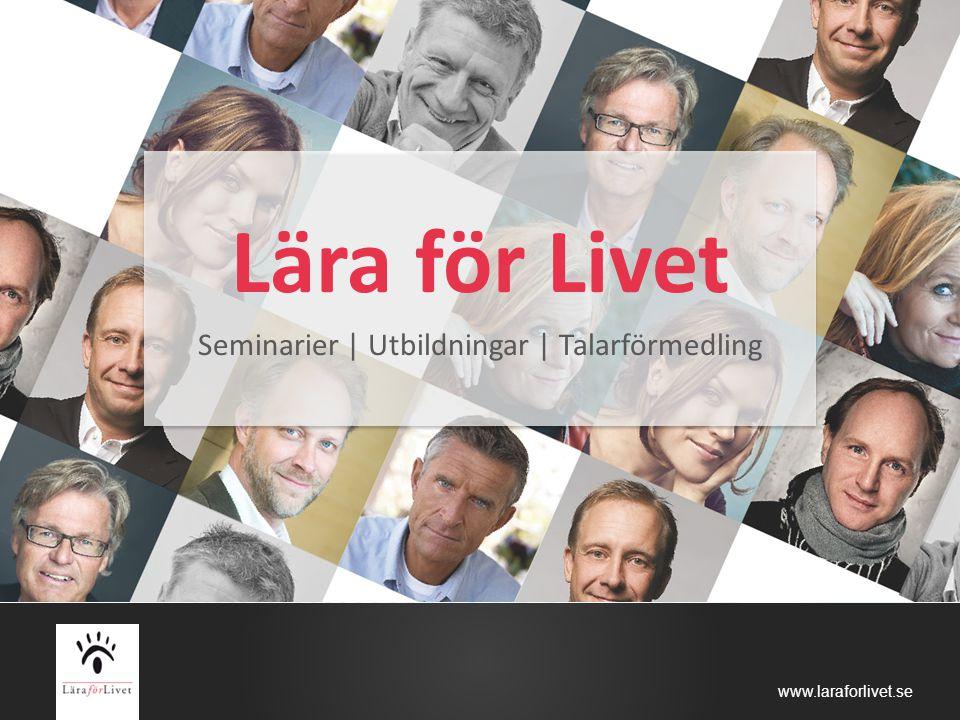 Seminarier | Utbildningar | Talarförmedling